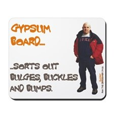 GYPSUM BOARD Mousepad