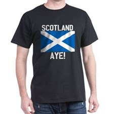 Scotland Aye Dark FB T-Shirt
