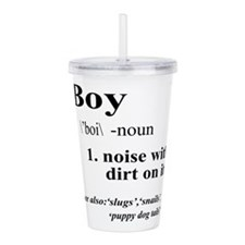 Boy Acrylic Double-wall Tumbler