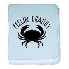 Feelin' crabby baby blanket