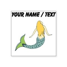 Custom Blond Mermaid Sticker