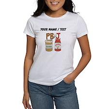 Custom Peanut Butter And Jam T-Shirt