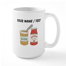 Custom Peanut Butter And Jam Mugs