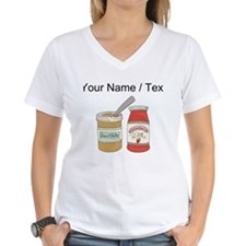 Custom Peanut Butter And Jam T-Shirt