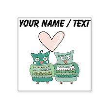 Custom Love Birds Sticker