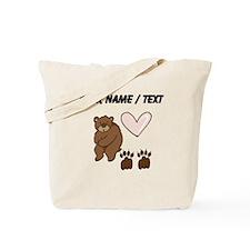 Custom Bear Love Tote Bag