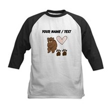 Custom Bear Love Baseball Jersey
