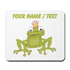 Custom Frog Prince Mousepad