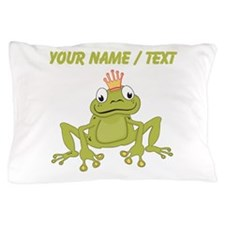 Custom Frog Prince Pillow Case