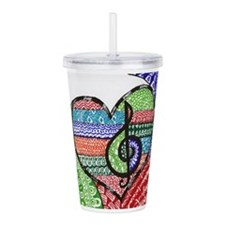 Unique Teacher Acrylic Double-wall Tumbler