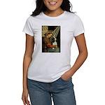 Madonna & Tri Cavalier Women's T-Shirt