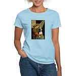 Madonna & Tri Cavalier Women's Light T-Shirt