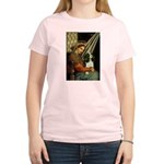 Madonna & Tri Cavalier Women's Light T-Shirt