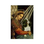 Madonna & Tri Cavalier Rectangle Magnet (10 pack)