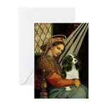 Madonna & Tri Cavalier Greeting Cards (Pk of 10)