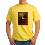 Lincoln & Tri Cavalier Yellow T-Shirt