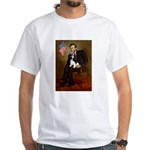 Lincoln & Tri Cavalier White T-Shirt
