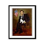 Lincoln & Tri Cavalier Framed Panel Print