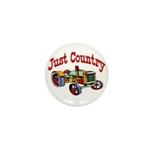 Just Country Mini Button