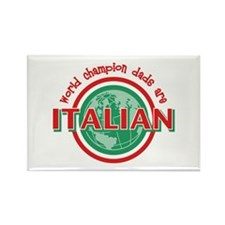 Italian Dads Rectangle Magnet