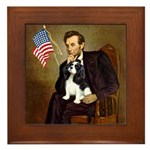 Lincoln & Tri Cavalier Framed Tile