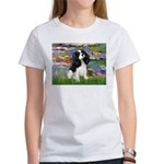 Lilies and Tri Cavalier Women's T-Shirt
