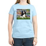 Lilies and Tri Cavalier Women's Light T-Shirt