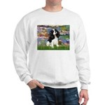 Lilies and Tri Cavalier Sweatshirt