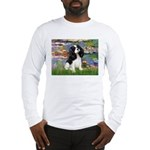 Lilies and Tri Cavalier Long Sleeve T-Shirt