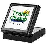 Trampoline Champ Keepsake Box