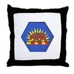 California Military Reserve Throw Pillow