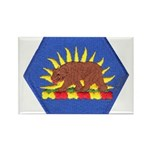 California Military Reserve Rectangle Magnet (100