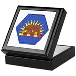 California Military Reserve Keepsake Box