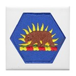 California Military Reserve Tile Coaster