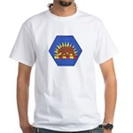 California Military Reserve White T-Shirt