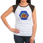 California Military Reserve Women's Cap Sleeve T-S