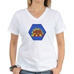 California Military Reserve Women's V-Neck T-Shirt
