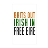 Brits Out Decal