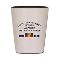 USS Oliver H Perry Shot Glass