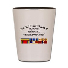 USS Natoma Bay Shot Glass