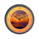 Dawning of Day Wall Clock