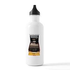 the enigma machine Water Bottle