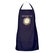 Custom Abstract Sun Apron (dark)