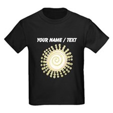 Custom Abstract Sun T-Shirt