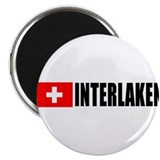 "Interlaken, Switzerland 2.25"" Magnet (100 pack)"