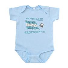Goal Argentina Infant Bodysuit