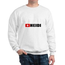 Heidi, Switzerland Sweatshirt