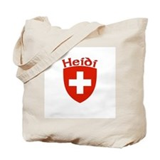 Heidi, Switzerland Tote Bag