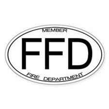 FFD Oval Decal