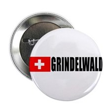 "Grindelwald, Switzerland 2.25"" Button (10 pack)"